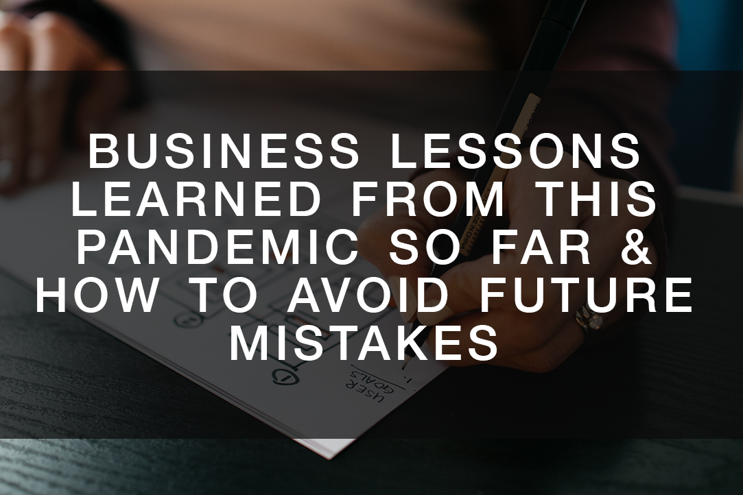 Business Lessons from Pandemic